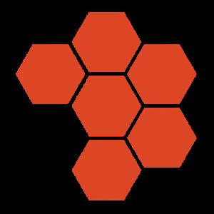 Hive hexagons favicon